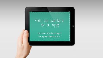 Video plantilla para app de Ipad