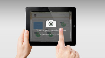 iPad app demo video template