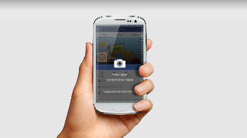 Mobile App Video Template Android
