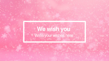 New Year Wishes Video Template