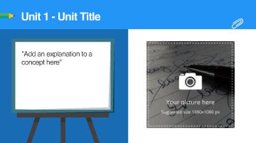 Educational Presentation Topic Video Template